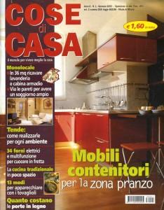COSE DI CASA_GENNAIO_2003_COPERTINA