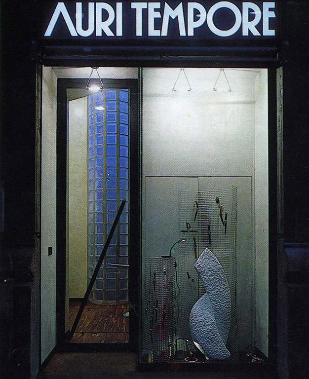 Gioielleria auritempore milano 1988 giovanna azzarello for L arreda negozi